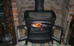Печь для отопления дачи длительного горения