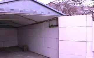 Утепление железного гаража