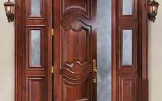 Утепление входной деревянной двери своими руками