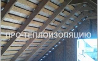 Утепление фронтона деревянного дома