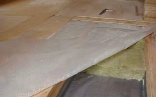 Утепление межэтажного деревянного перекрытия