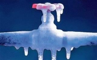 Утепление трубопровода холодной воды