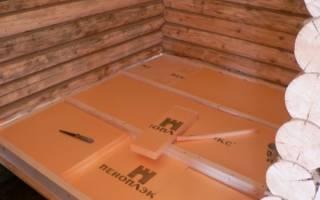 Утепление пола пенопластом в деревянном доме