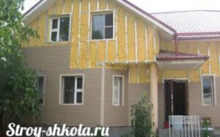 Технология утепления деревянного дома снаружи