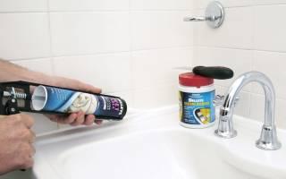Чем оттереть герметик с ванной