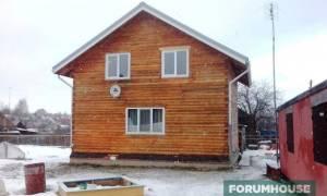 Утепление фасада дома из бруса