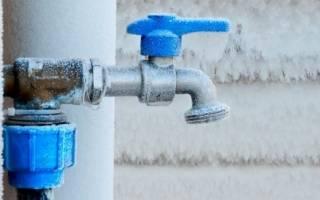 Утепление водопроводных труб в частном доме