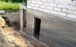 Фундамент под цокольный этаж своими руками