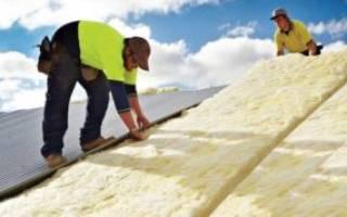 Варианты утепления крыши